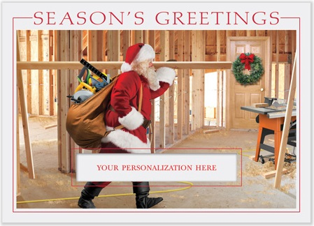 Contractor Christmas Cards