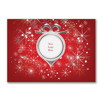 Business Logo Christmas Cards Order Online